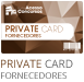 private card - fornecedores